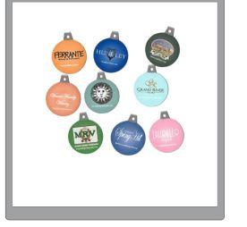 Actual magnet ornaments.